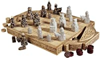 Museum Collectible Antique Replica Chess Set/Chess Pieces and Board