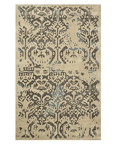 Jaipur Limited Production Hand-Tufted Blue Collection Rug, Taupe/Tan, 5' x 8'
