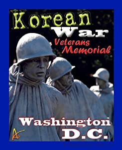 Best Ultimate Iron On Korean War Meml Travel Collectable Souvenir Patch - National Parks & Monuments Souvenir Postcard Type Quality Photos Graphics - Korean War Memorial