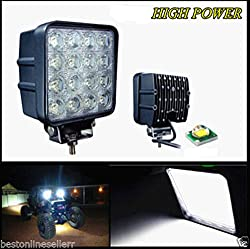 48 WATT LED Flood Light Off Road 4x4 Flood 60 Degree Work Light