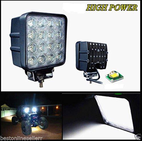 48 WATT LED Flood Light Off Road 4×4 Flood 60 Degree Work Light