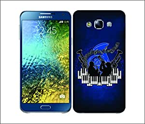 Galaxy Printed 2440 Music Genre Jazz Hard Cover for Samsung J5