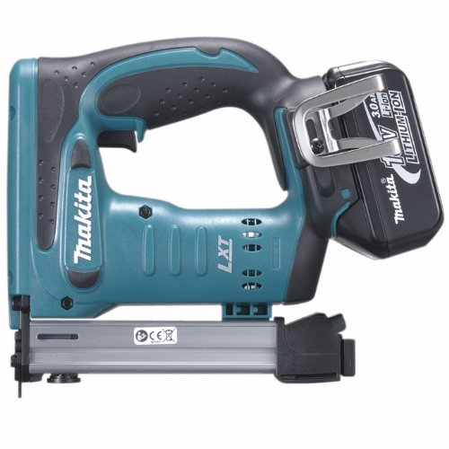 Makita BST221 18-Volt LXT Lithium-Ion Cordless 3/8-Inch Crown Stapler Kit
