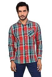Monarch's Pure Cotton Designer Casual Shirts-L