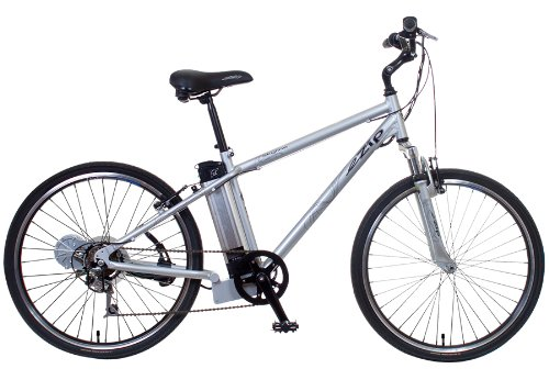 EZIP Skyline Diamond Frame Electric Bicycle - Silver