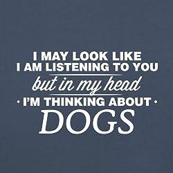 In My Head I'm Dogs - Unisex Sweatshirt / Sweater - 8 Colours