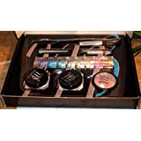 Micabella Set 8 Stacks Vibrant+foundation Mf1 Porcelain Light+ Wild Rose Blush+ Bronzer Glimour