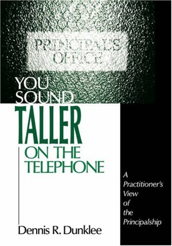 You Sound Taller on the Telephone: A Practitioner's View...