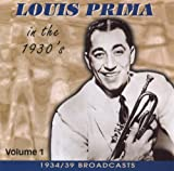 echange, troc Louis Prima - 1934-39 Broadcasts 1
