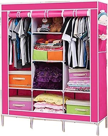 RB Folding Wardrobe Almirah Non Woven Fabric Cloth  Maroon. RB Folding Wardrobe Almirah Non Woven Fabric Cloth  Maroon  Amazon