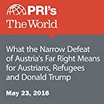 What the Narrow Defeat of Austria's Far Right Means for Austrians, Refugees and Donald Trump | David Leveille