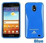 Galaxy S2 HD LTE TPUケース (GALAXY SII WiMAX ISW11SC 対応) Mercury Case【Blue(青)】