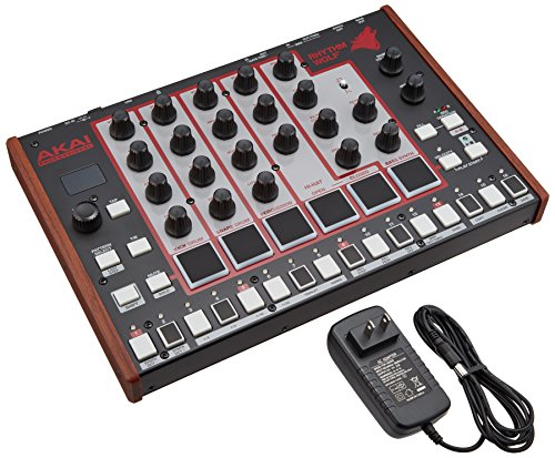 Great Features Of Akai Professional Rhythm Wolf Analog Drum Machine and Bass Synthesizer