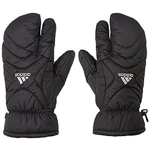 adidas(アディダス) CORE ウォームペアミトン (BCV46) メンズ ゴルフ 手袋 両手用 ハンドウォーマー ブラック Fメンズ(フリー)