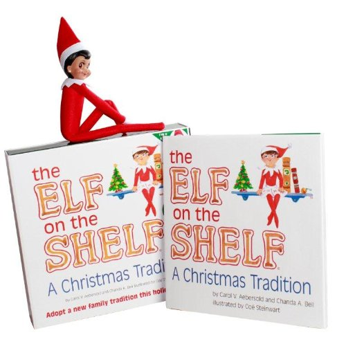 The Elf on the Shelf Brown Eyed Girl - Book