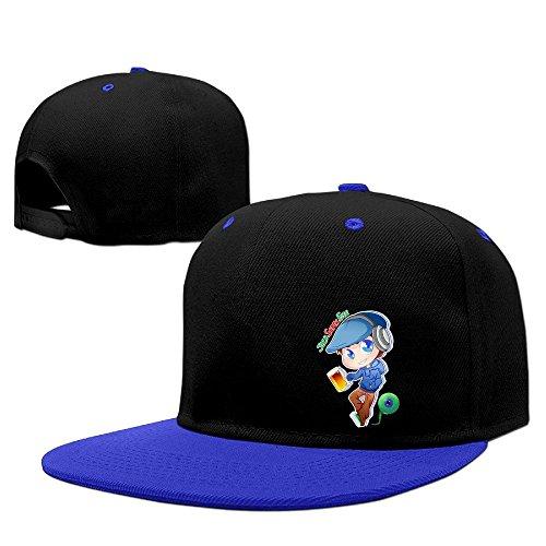 [Hip Hop JACKSEPTICEYE Unisex Hat Men] (Jumbo Hip Hop Adult Hat)