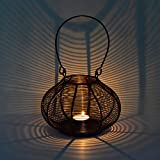 ExclusiveLane Copper Brown Hanging Cum Table Tealight Holder- For Gift / Home Décor