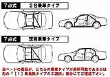 シビック[EF9(3ドア)]用 TR7点式ロールバー[クロモリ]定員乗車Type ダッシュ逃げ
