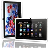 "BTC® KITKAT 7"" inch Touch Screen Quad Core CPU Android 4.4 Tablet PC Dual camera HDMI 8GB HDD 512MB WiFi White"
