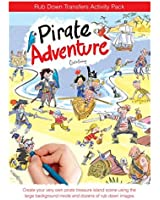 Scribble Down Activity Transfers Pack - Pirate Adventures