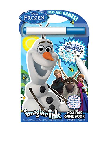 Bendon Publishing Disney Frozen Imagine Ink: Mess-Free Game Book