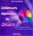 Dictionnaire d'applications des coule...