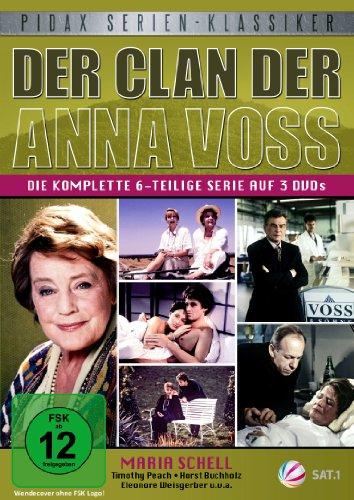Der Clan der Anna Voss - Die komplette 6-teilige Familiensaga (Pidax Serien-Klassiker) [3 DVDs]