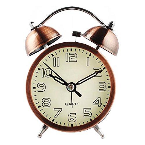 Silencieux réveil avec alarme sonore nocturne ( E )