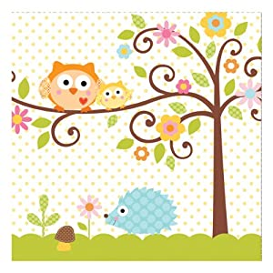 Happi Tree 3ply Lunch Napkins 13'' - pk 16 en Bebe Hogar