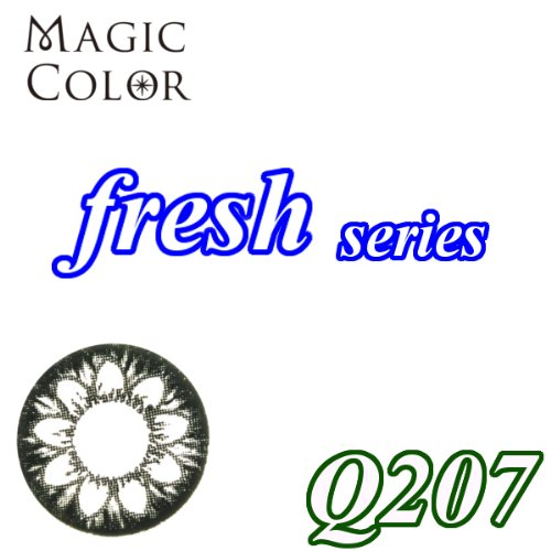 MAGICCOLOR (マジックカラー) fresh Q207 度なし 14.5mm 1ヵ月使用 2枚入り