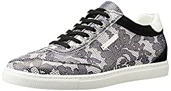 Alessandro dellAcqua Rouge Womens Multi-Colour Leather Sneakers - 4 UK (9021)