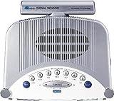 Sangean Clock Radio Aux Blue Backlit Large Illuminated Lcd Screen Separate Adjustable Nap