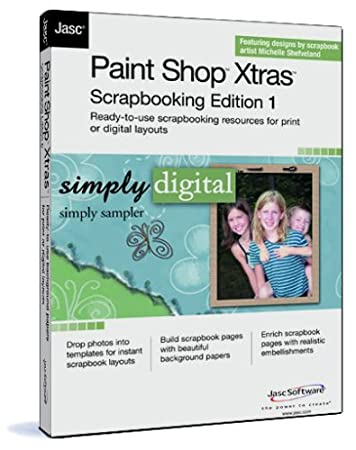 Paint Shop Xtras Scrapbooking Edition 1  Simply Sampler
