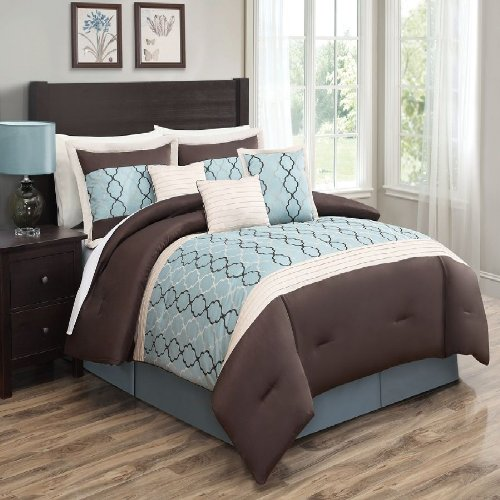 Blue Brown Bedroom Pictures: Chocolate Brown And Blue Bedding Sets