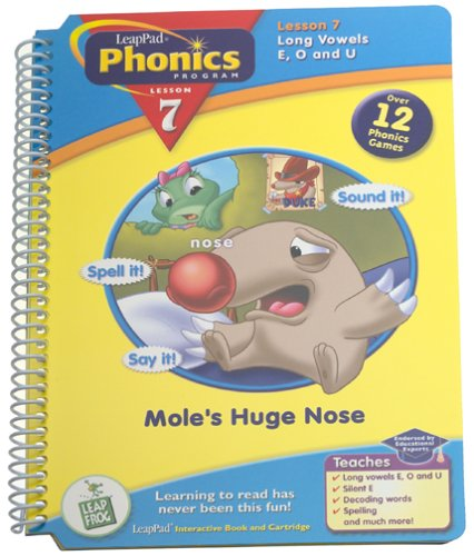 LeapPad: Phonics 7 - The Mole's Huge Nose - 1