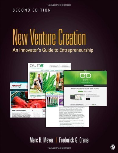 New Venture Creation: An Innovator's Gudie to Entrepreneurship