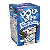 Kelloggs Pop Tarts Cookies & Cream 400g