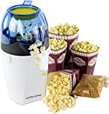 Andrew James Hot Air Popcorn Maker -Includes 4 Popcorn Boxes And 2 Year Warranty