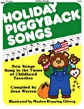 img - for Totline Holiday Piggyback Songs book / textbook / text book