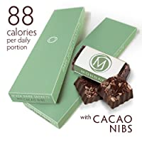 DARK SECRET chocolate with Cacao Nibs - Two 7 Day Boxes