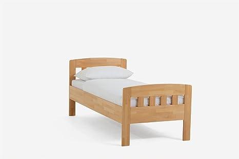 dico massivholzbett letto singolo Jasmine 420.0090cm x 200cm lunghezza 200cm 02in legno di faggio laccato naturale