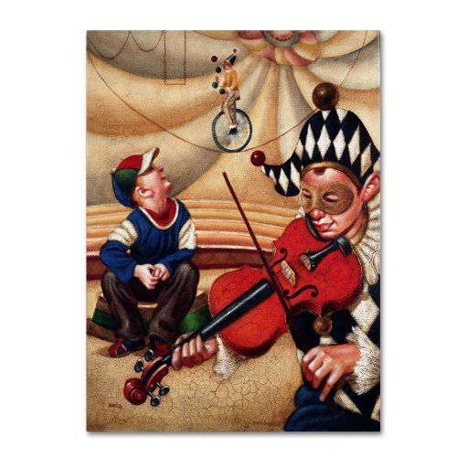 Trademark Fine Art Calandurim Artwork By Edgar Barrios, 35 By 47-Inch front-920502