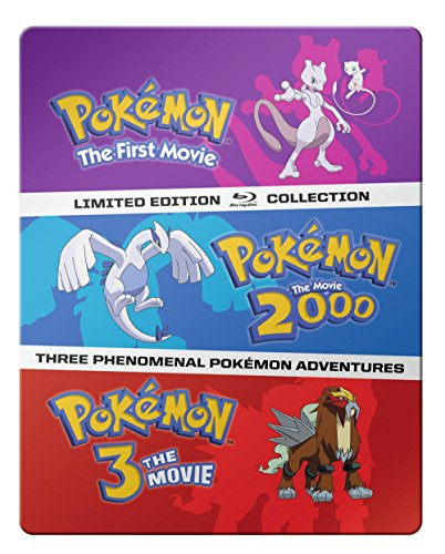 Pokémon: The Movies 1-3 Blu-ray collection