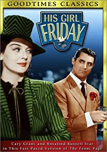 "Cover of ""His Girl Friday"""