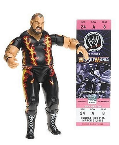 WWE Classic Superstar Collector Series #9 Bam Bam Biggelo - Buy WWE Classic Superstar Collector Series #9 Bam Bam Biggelo - Purchase WWE Classic Superstar Collector Series #9 Bam Bam Biggelo (Jakks Pacific Inc, Toys & Games,Categories,Action Figures,Sports Figures,Wrestling)