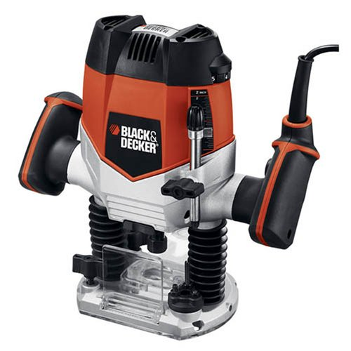 Black & Decker RP250 10-Amp 2-1/4-Inch Variable Speed Plunge Router (Black And Decker Work Table compare prices)