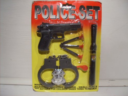 Police Action Playset Toy