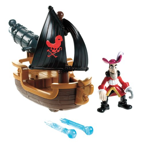 Fisher-Price Disney'S Jake And The Never Land Pirates - Hook'S Battle Boat front-503771
