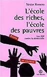 Ecole des riches ecole des pauvres