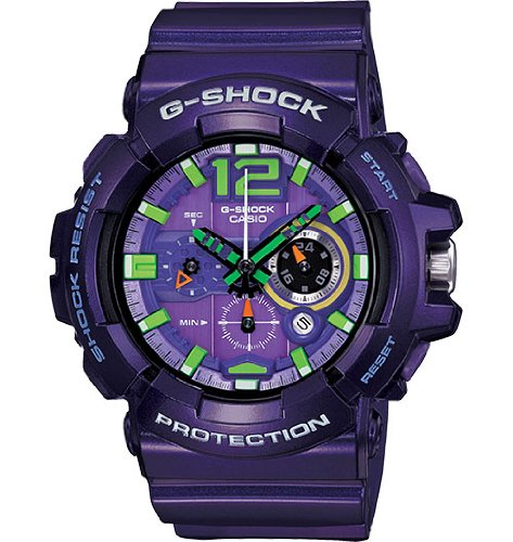 Casio G-SHOCK Big Case Series GAC-110-6ACR Purple Men's Watch